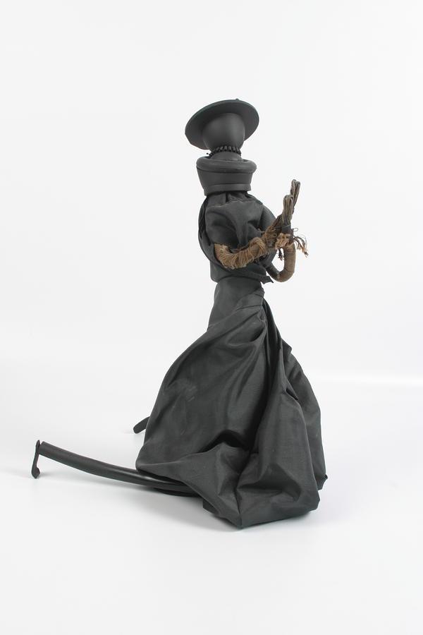 A Frayed Nun The Less Sculpture