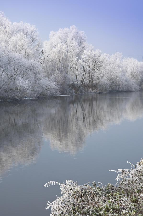 A Frosty River Severn Photograph