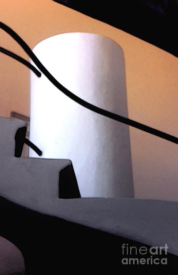 A Gaudi Staircase Photograph