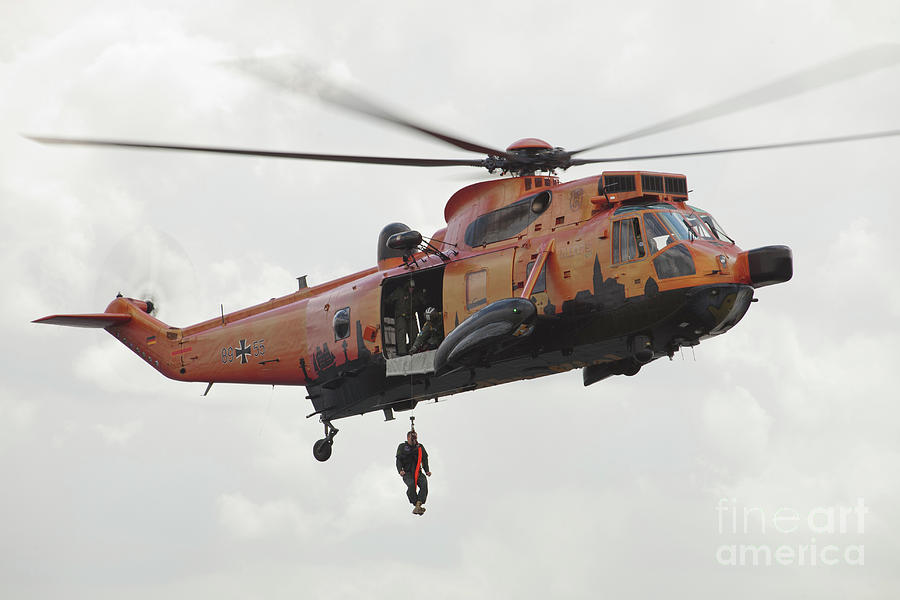 A German Ws-1 Sea King Photograph