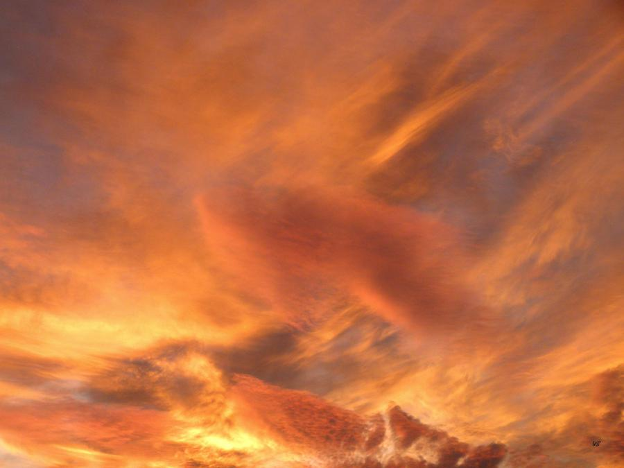 A Glorious Evening Sky Photograph  - A Glorious Evening Sky Fine Art Print