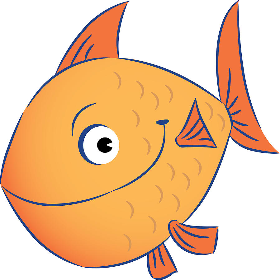 A Goldfish Digital Art