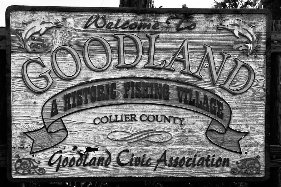 A Goodland Photograph