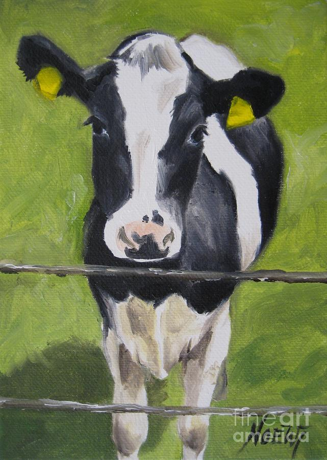 A Heifer Painting