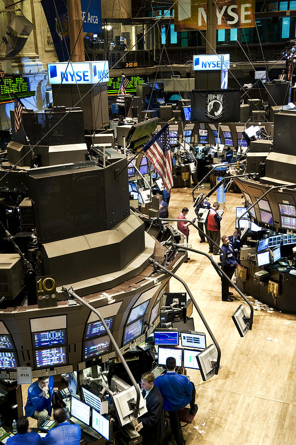 A High Angle View Of The New York Stock Photograph