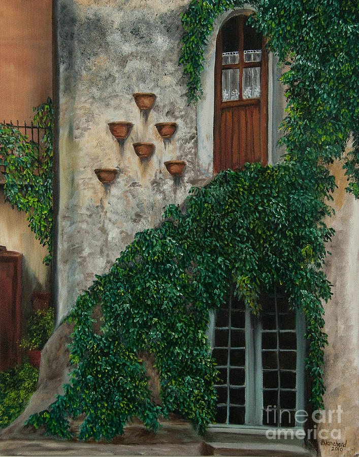 A House Of Vines Painting
