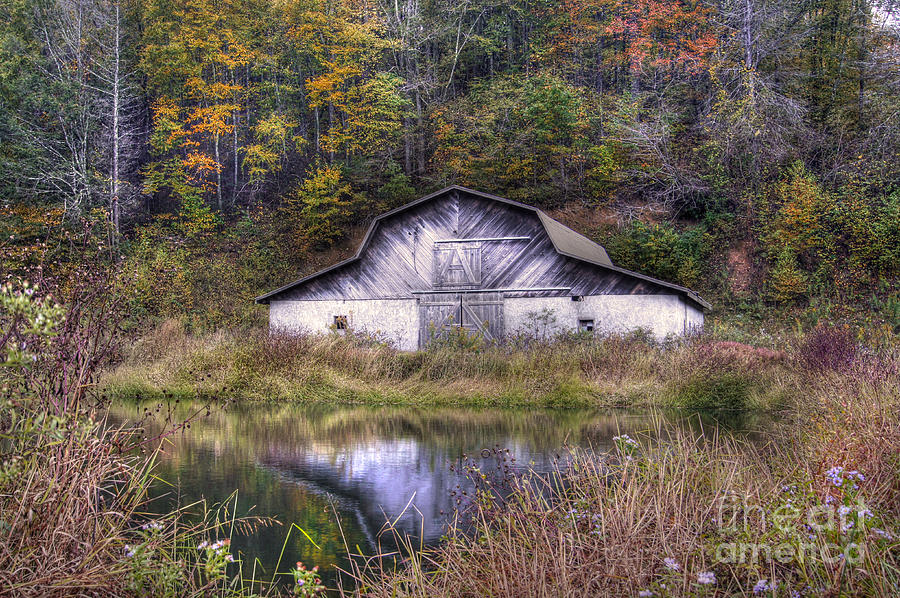 Autumn Landscape Photograph - A Is For Autumn by Benanne Stiens
