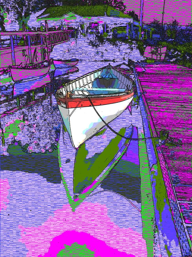 A Lakeside Wonderful Digital Art