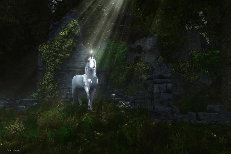 A Light In The Darkness Digital Art