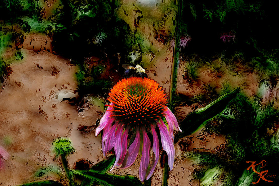 Bee Photograph - A Lot To Do Today by Kelly Rader