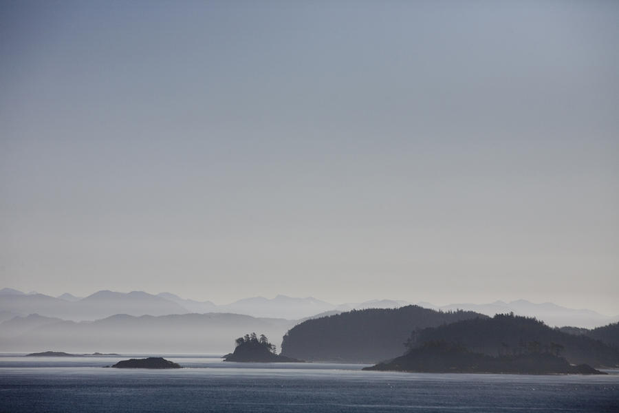 A Misty Afternoon On Haida Gwaii Photograph