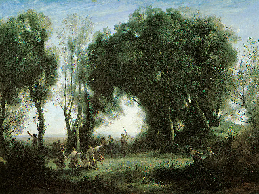 A Morning Dance Of The Nymphs Painting