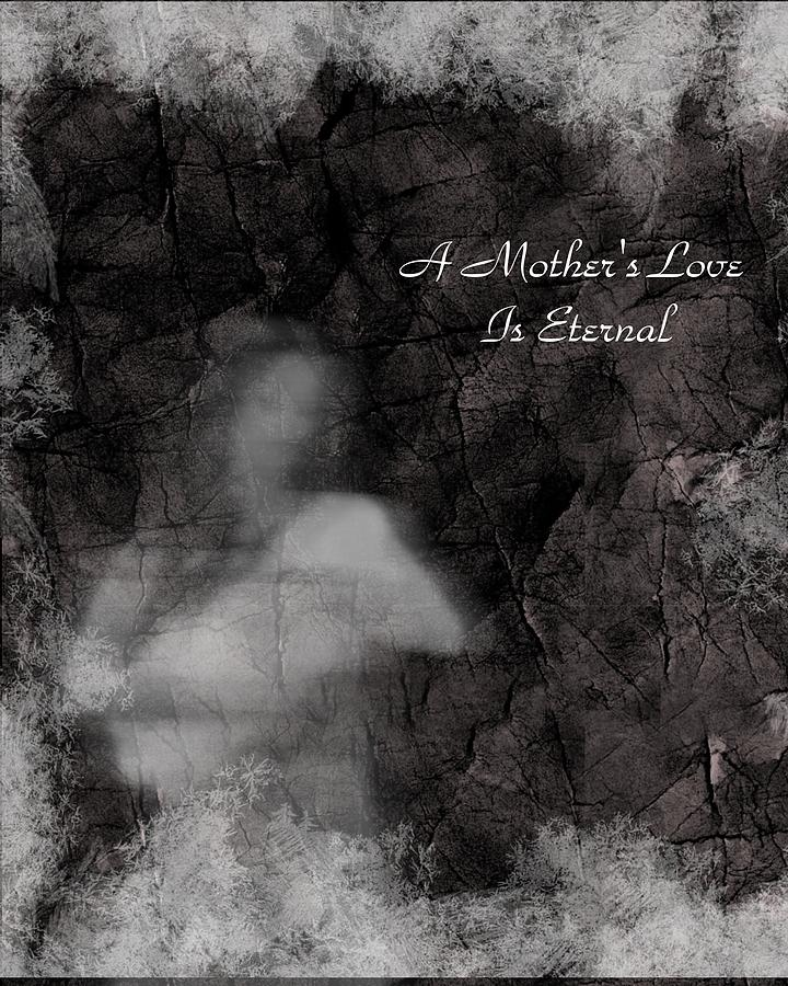A Mothers Love Digital Art  - A Mothers Love Fine Art Print