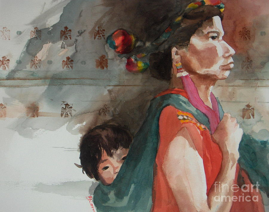 A Mothers Resolve Painting