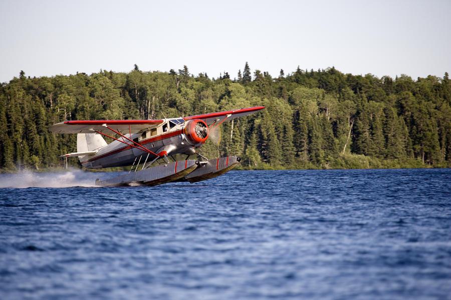 A Norseman Float Plane Takes Off Photograph  - A Norseman Float Plane Takes Off Fine Art Print