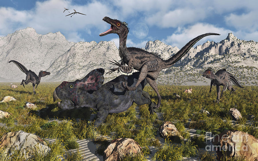 velociraptor painting related keywords - photo #11