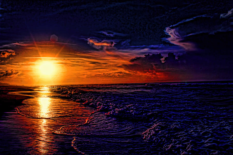 A Painted Sunrise Photograph  - A Painted Sunrise Fine Art Print