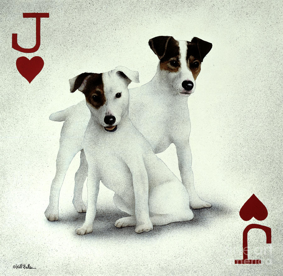 A Pair Of Jacks... Painting  - A Pair Of Jacks... Fine Art Print