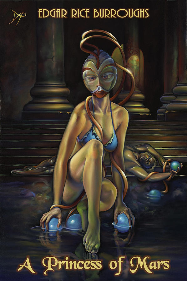 A Princess Of Mars Painting  - A Princess Of Mars Fine Art Print