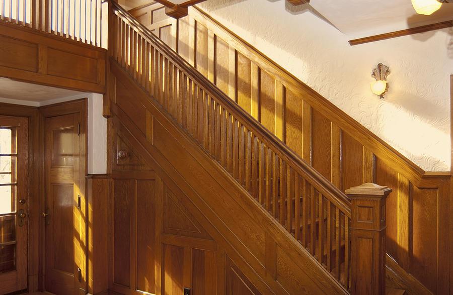 A Residential Building. An Oak Photograph