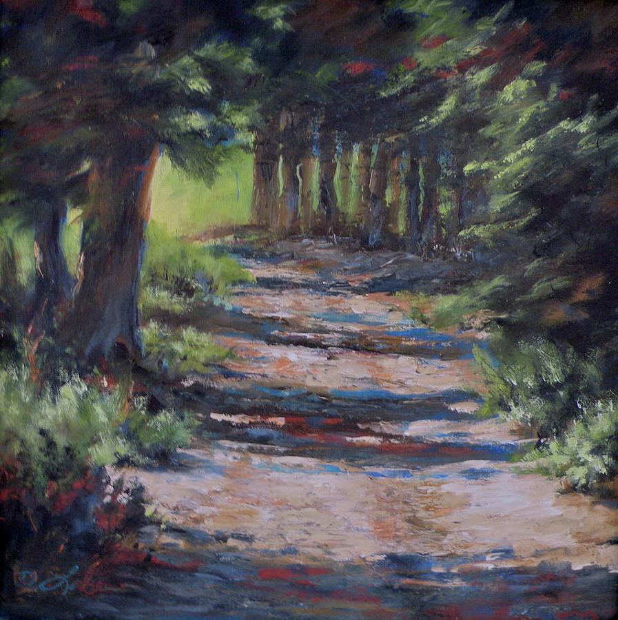 A Road Less Travelled Painting  - A Road Less Travelled Fine Art Print