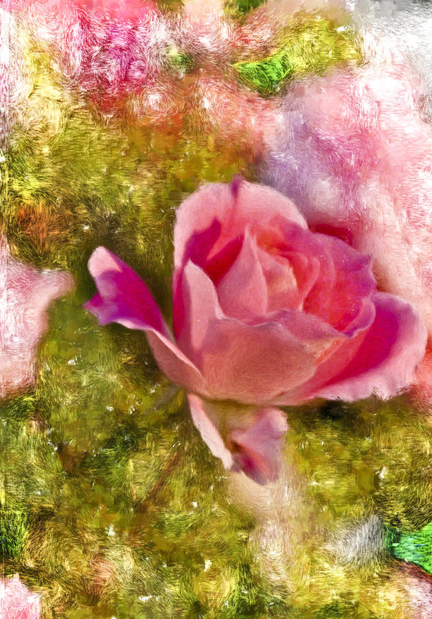 A Rose Among . . . Digital Art