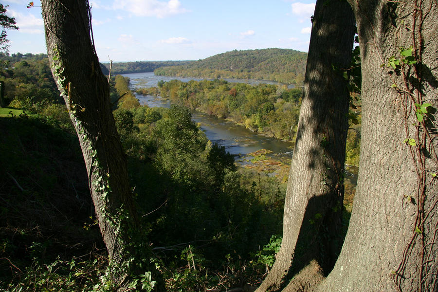 A Scenic View Of The Potomac River Photograph