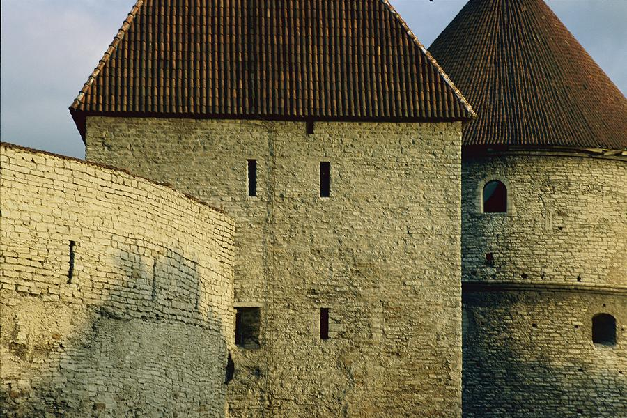 A Section Of Wall Around Tallinn, Built Photograph