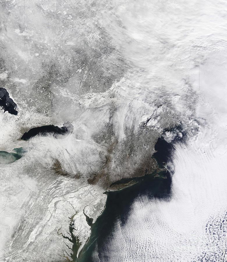 A Severe Winter Storm Photograph
