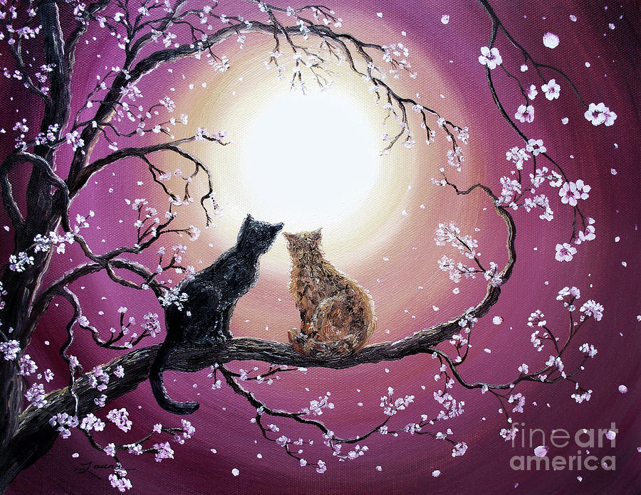 A Shared Moment Painting  - A Shared Moment Fine Art Print