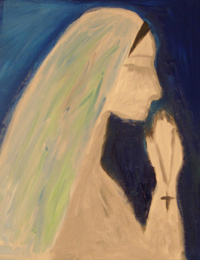 A Silent Prayer In The Night Painting