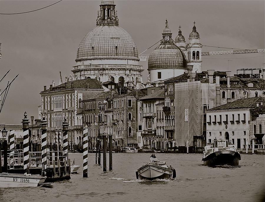 A Slice Of Venice Photograph  - A Slice Of Venice Fine Art Print