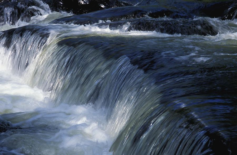 A Small Waterfall Photograph By David Chapman