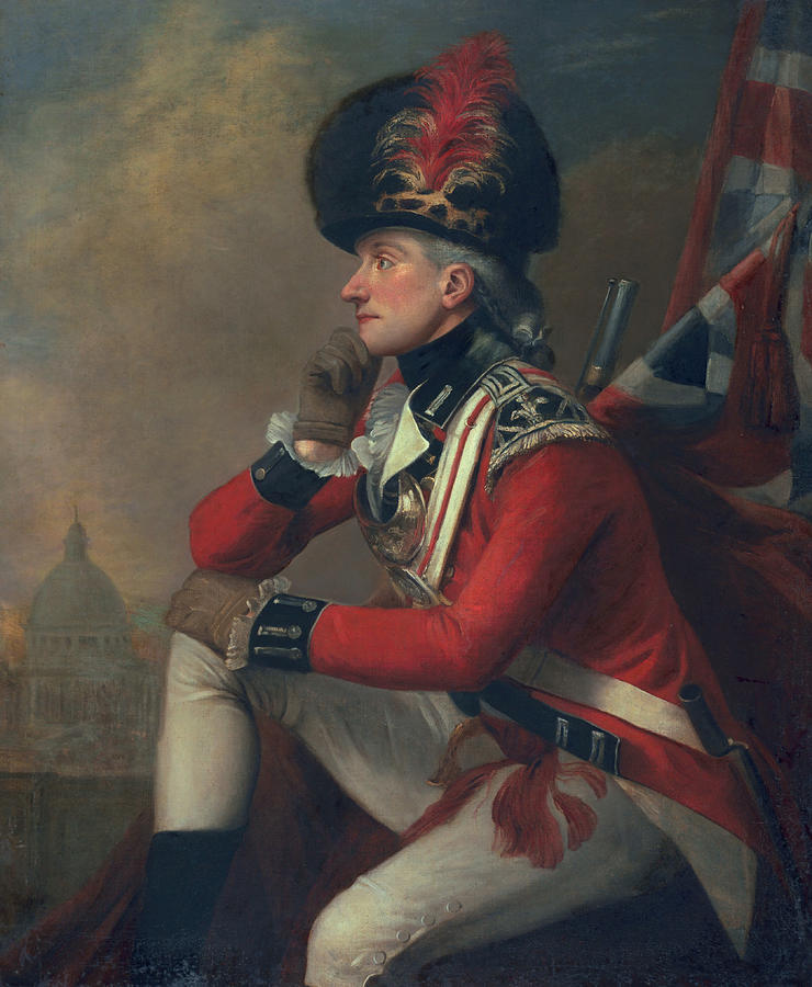 A Soldier Called Major John Andre Painting