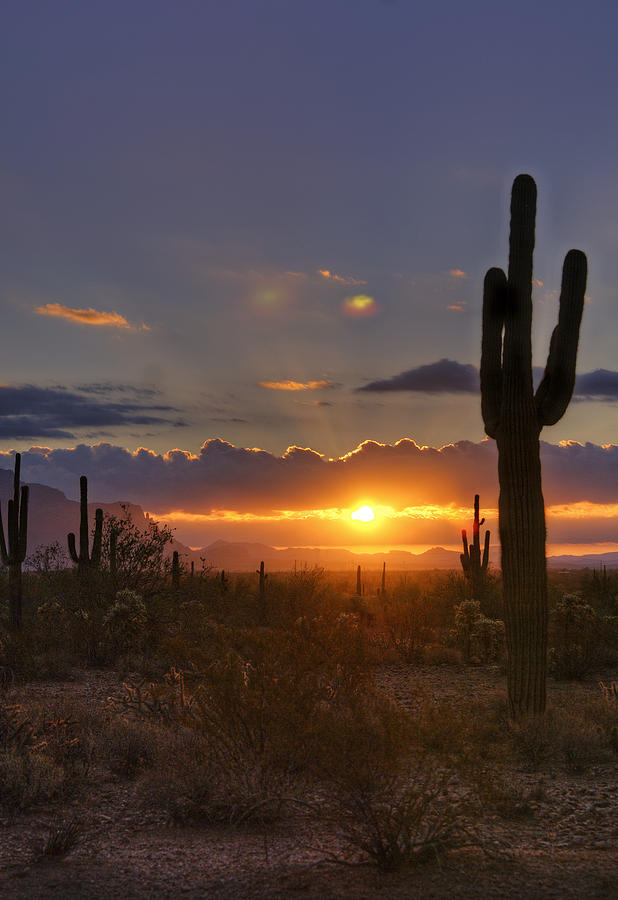 Sunrise Photograph - A Spectacular Sunrise  by Saija  Lehtonen