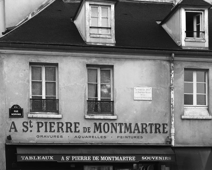 A st pierre de montmartre in paris photograph by greg matchick - St pierre de montmartre ...