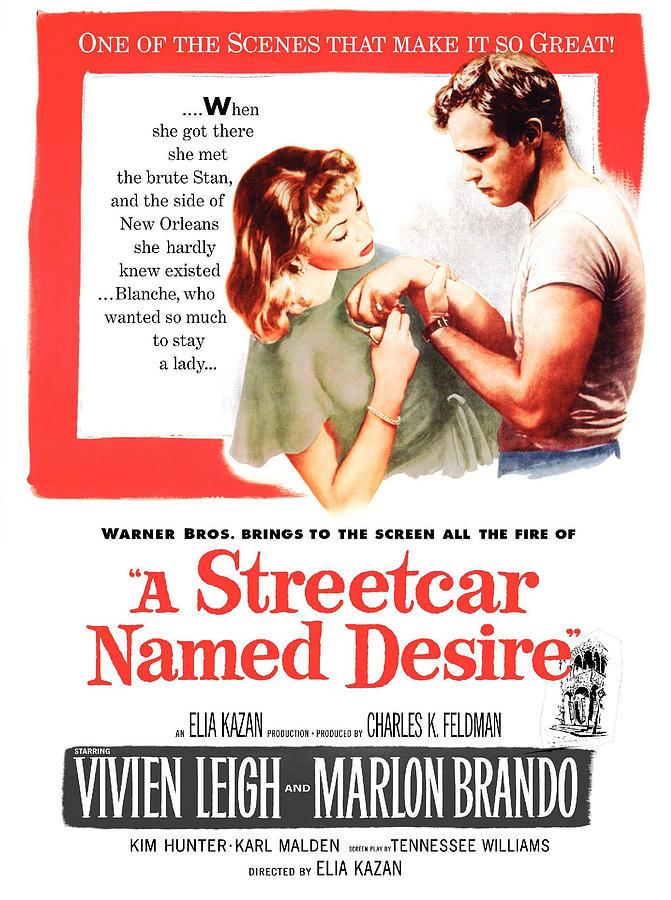 1950s Poster Art Photograph - A Streetcar Named Desire, Vivien Leigh by Everett