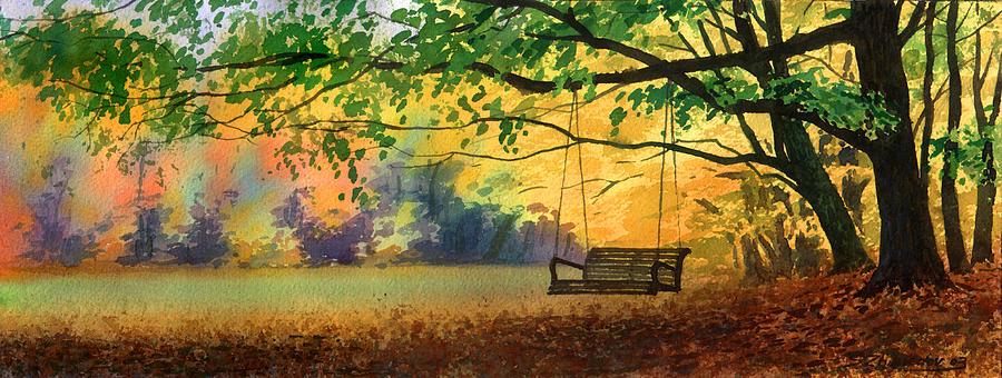 A Tree Swing by Sergey Zhiboedov