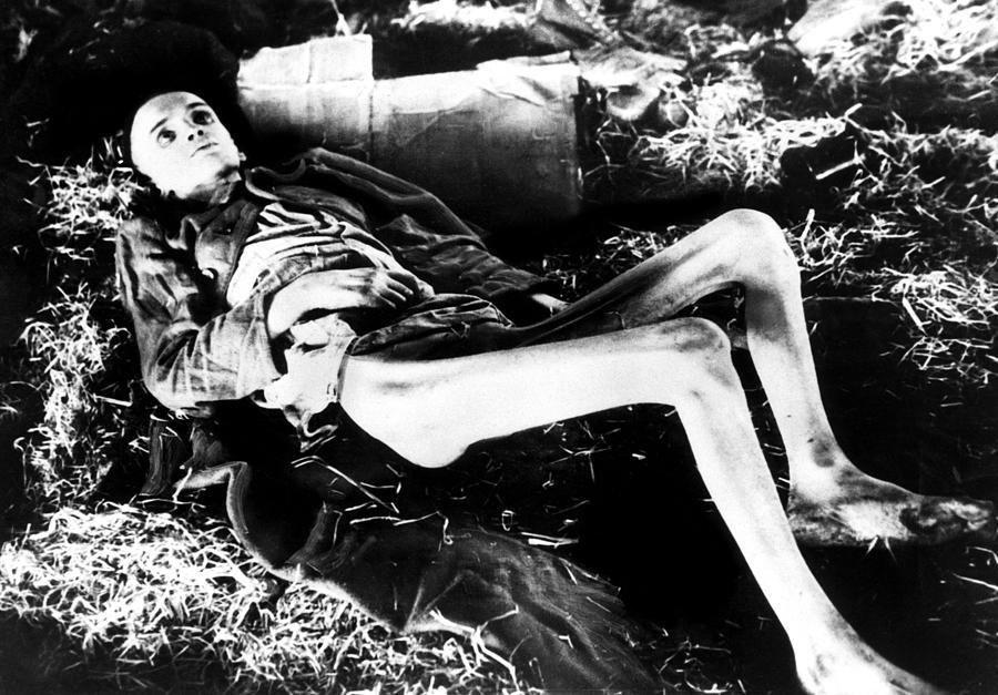 A Victim Of A German Concentration Photograph