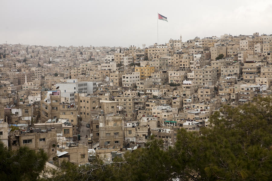 A View Of Amman, Jordan Photograph