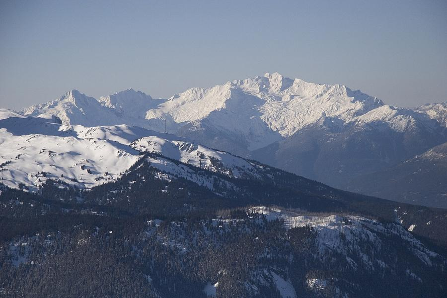 A View Of The Mountains Photograph