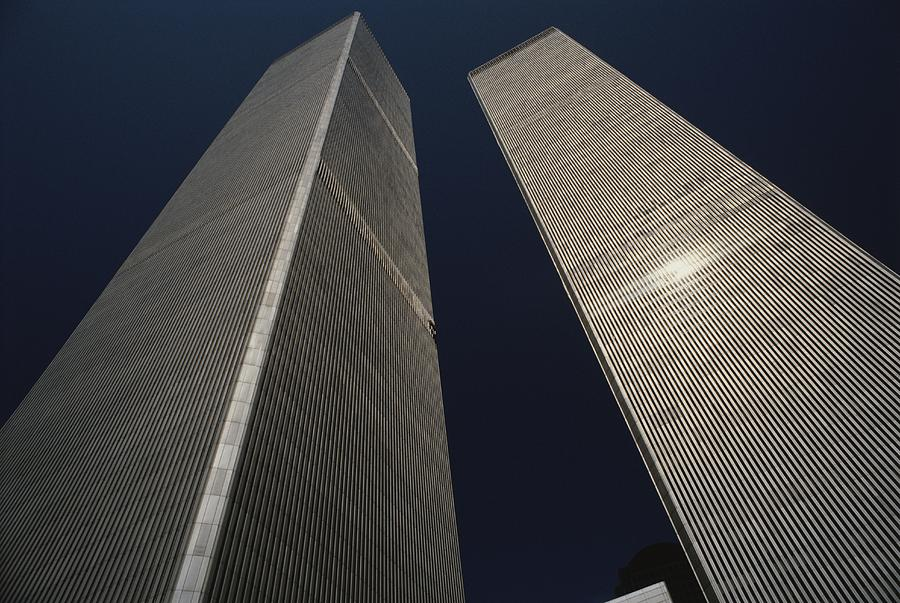 A View Of The Twin Towers Of The World Photograph  - A View Of The Twin Towers Of The World Fine Art Print