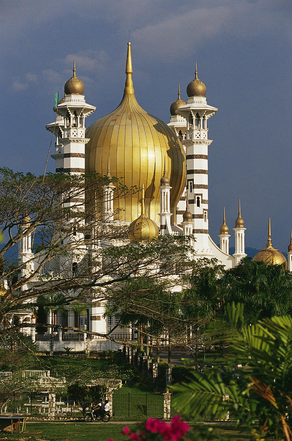 Asia Photograph - A View Of The Ubudiah Mosque by Steve Raymer