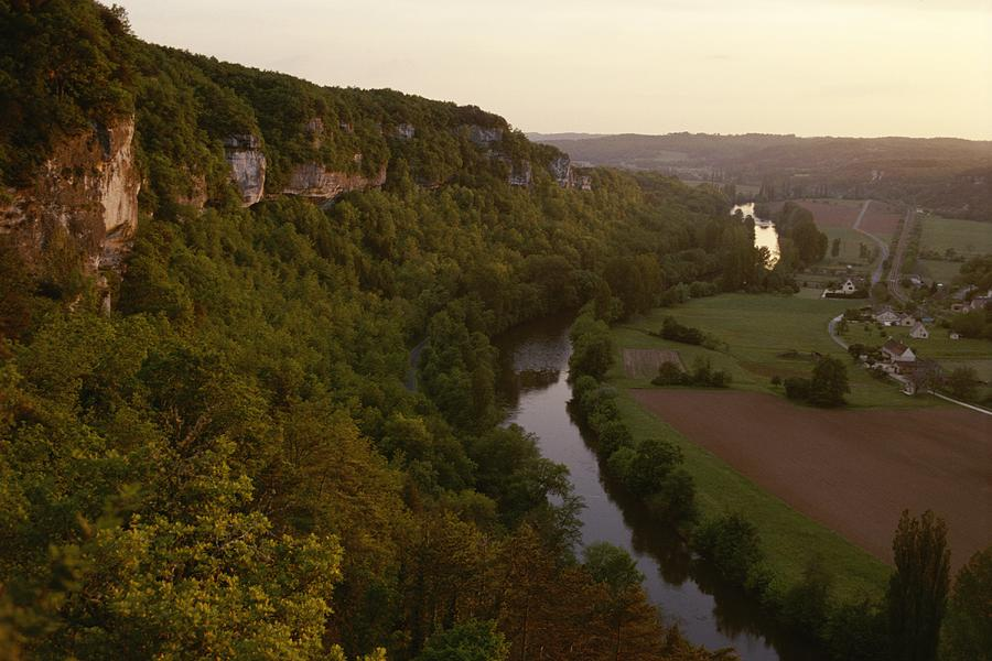 A View Of The Vezere River Valley Photograph