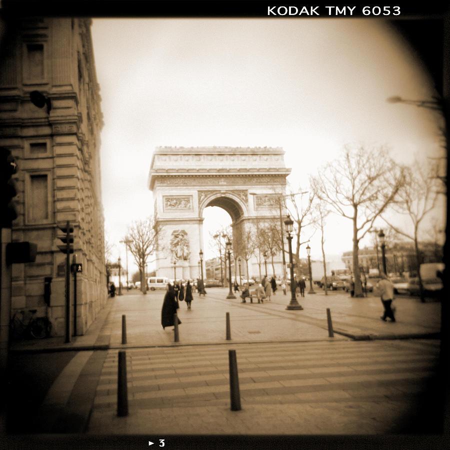 A Walk Through Paris 3 Photograph