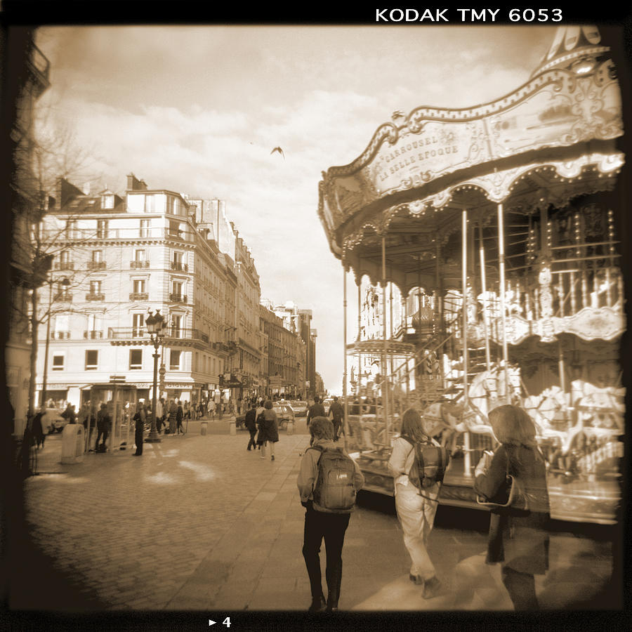 A Walk Through Paris 4 Photograph