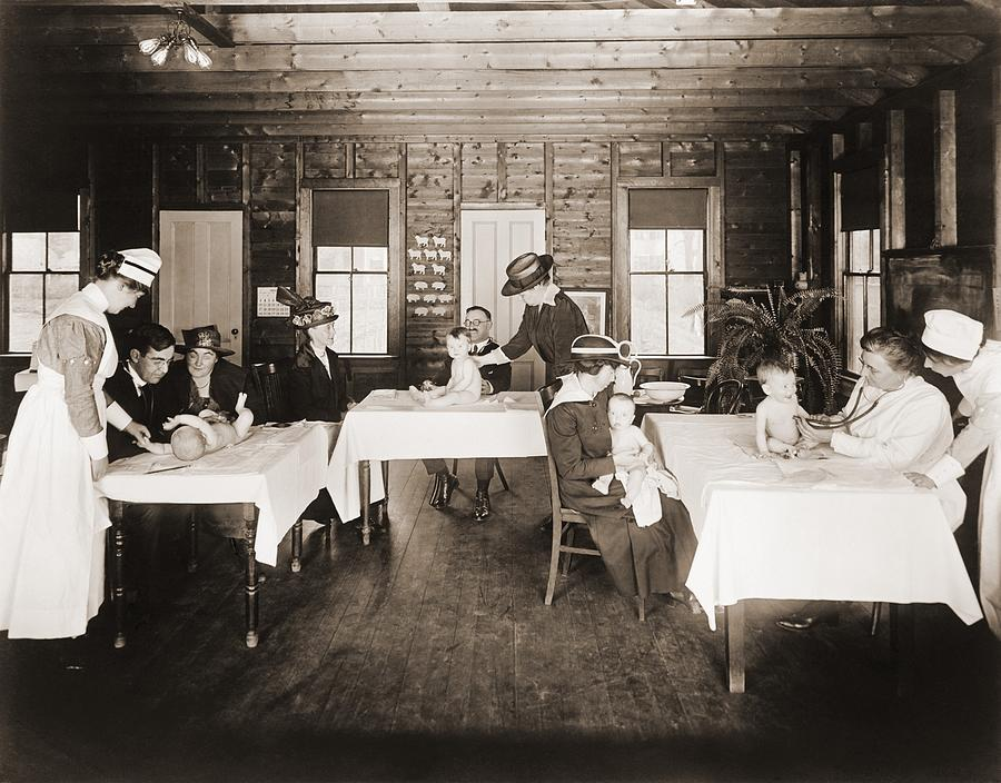 A Well Baby Clinic In Framingham Photograph