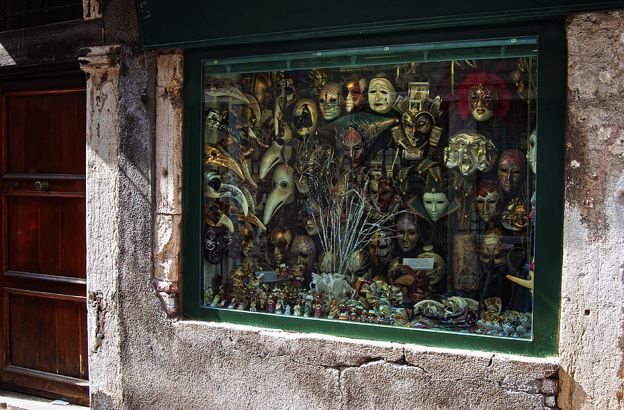 A Window In Venice Photograph  - A Window In Venice Fine Art Print