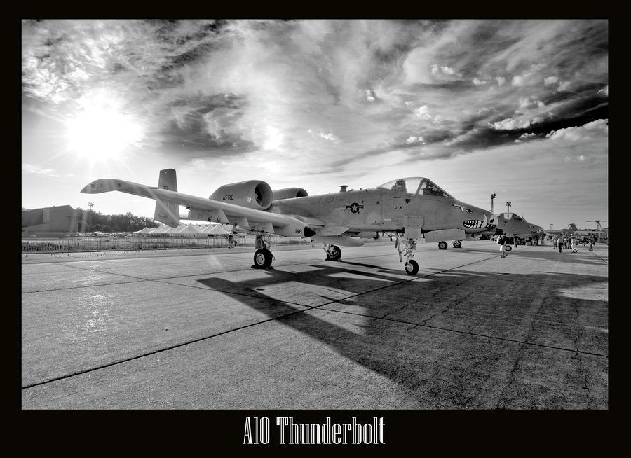 A10 Thunderbolt Photograph
