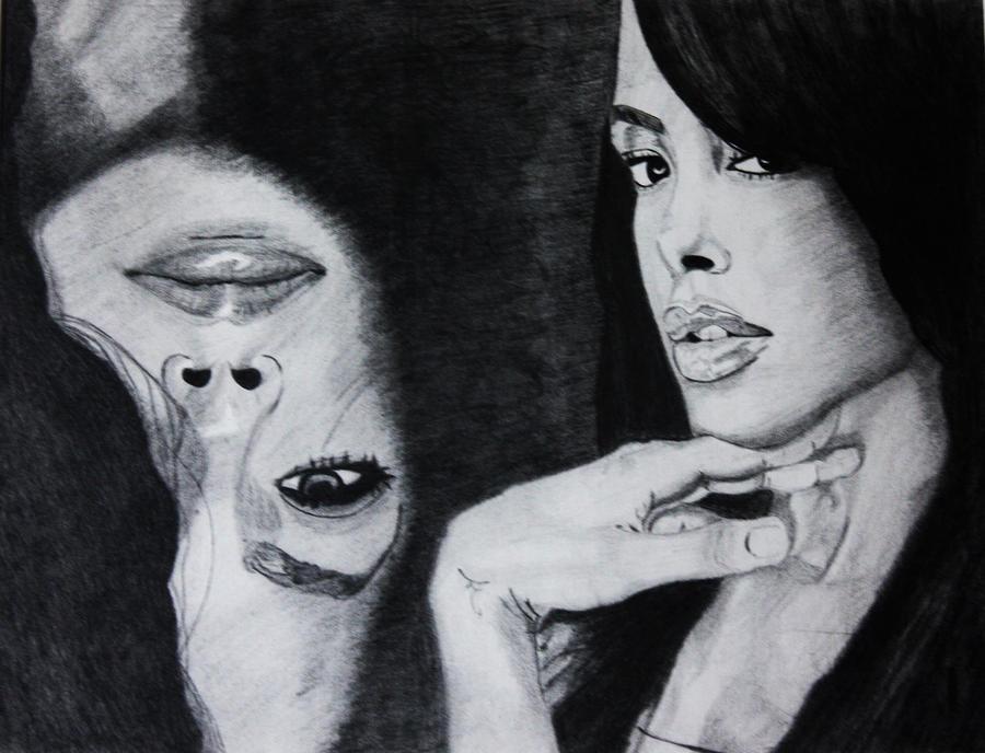 Aaliyah Paintings For Sale